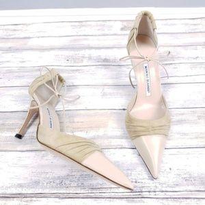 Manolo Blahnik Shoes - Manolo Blahnik D'orsay Heels Size 40